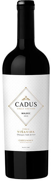 Cadus Single Vineyard Finca Viña Vida Malbec 2013